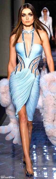 She had bought this dress straight from the runway to wear for going out dancing amd to lounges