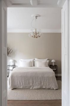 Minimalist Bedroom, Minimalist Home, Minimalist Christmas, Room Ideas Bedroom, Home Decor Bedroom, Beige Room, Homemade Home Decor, New Room, Home Interior Design