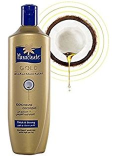 "New Parachute Gold Coconut Hair OIl -""Thick & Strong"" -200ml"