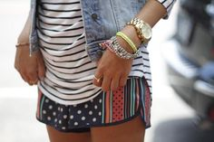 #mixandmatch #stripes and #polkadots #deminvest #zara #blogger #summerstyle #streetstyle #fashionblog #blogger #fashionroll