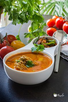 Indian Veg Recipes, Indian Foods, South Indian Food, Asian Recipes, Easy Recipes, Cooking Recipes, Ethnic Recipes, Curry In A Hurry, Indian Soup
