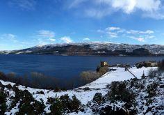 Lago Ness. Castillo de Urquhart.