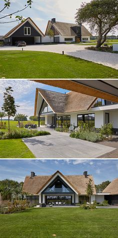 Villa Design, House Design, Country Home Exteriors, Dere, Home And Living, Beautiful Homes, House Plans, Home And Garden, Cottage