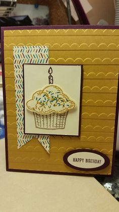 Stampin up! Sprinkles of life. RMHC