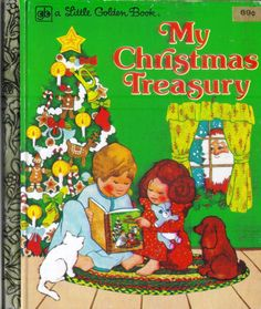 Vintage Little Golden Book My Christmas by ShopHereVintage on Etsy
