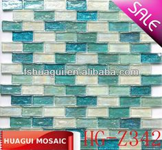 Check out this product on Alibaba.com App:Pearl Aqua Glitter Hammered Brick Mosaic Tile HG-Z342 https://m.alibaba.com/z6nQr2