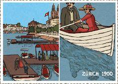 Ansichten Zürich - Serpentina Hagner Zürich