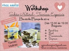 Criações Dulce Mourato: Cosmética Natural. Workshops de cosmética Natural