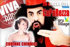 #vivalaradio Questa sera al #GruVillage con Corinne Chinnici