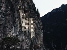 Sumela Monastery, Turkey  via www.flickr.com/photos/iphotograph