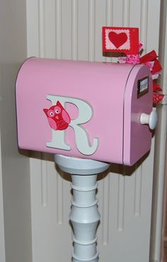 DIY mailbox for a kid. I think I can incorporate this into a rewards system.