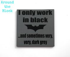 Batman SignLego MovieWall Decor by AroundtheBlockAZ on Etsy, $20.00