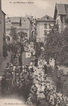 La rue du Bourg à la naissance du XXème - Notre Histoire