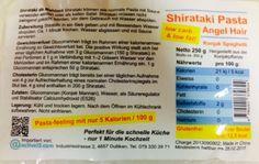 Shirataki Angel Hair und Reis zum Sparpreis sind wieder da!