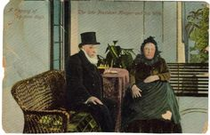 Pres Paul Kruger and his wife - this Day in History: Oct 10, 1825: Paul Kruger, the face of Boer resistance against the British during the Second Boer War is born