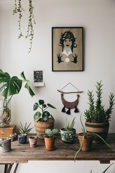 Life in our Bohemian dream home. Layers of texture, the botanical and mystical to create the perfect nature inspired boho look. Interior Design Living Room, Living Room Decor, Bedroom Decor, Living Room With Plants, Bedroom Ideas, Comfy Bedroom, Bedroom Inspo, My New Room, My Room