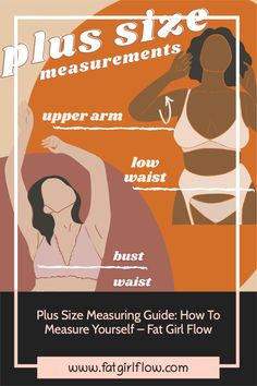 Plus size clothing sizes are all over the place. But there's one place you can start that Plus Size Lingerie, Plus Size Swimwear, How To Measure Yourself, Plus Size Outfits, Plus Size Fashion, Flow, Size Clothing, Clothes, Plus Lingerie