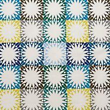 Buy John Lewis Scandi Multi Star Squares Fabric Online at johnlewis.com