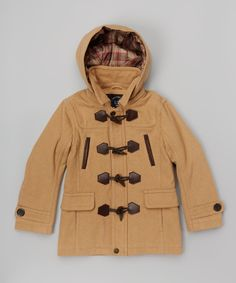 Look at this Urban Republic Camel Toggle Jacket - Infant, Toddler & Boys on #zulily today!