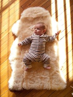 Babycare Natural Lambskin Comforter