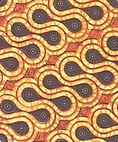 lem from Panang batik design