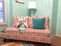 Our Reading Couchette | Do It Yourself Home Projects from Ana White
