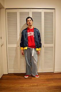 Y's Wardrobe: [77circa champion]古着ミックスでこれぞThe90年代感!?