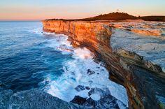 landscapes stock photography   Cape Bailey at Sunrise, Kurnell Peninsula, Botany Bay National Park, Sydney, NSW, Australia