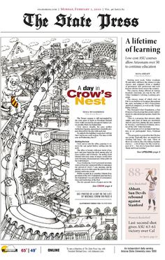 1st Place, Front Page Design (Tabloid) by ssnd.missouri, via Flickr