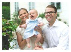 Crown Princess Victoria, Prince Daniel and Princess Estelle of Sweden | by Penelopi