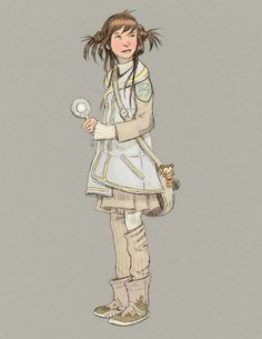 Toni Diterlizzi - Character design for 'The Search for Wondla'