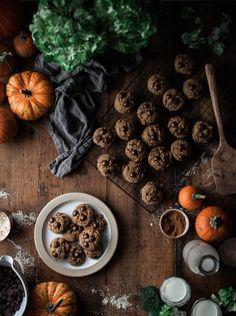 Pumpkin Brown Butter Chocolate Chip Cookies - The Kitchen McCabe