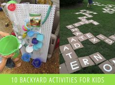 10 Summer Backyard Activities For Kids