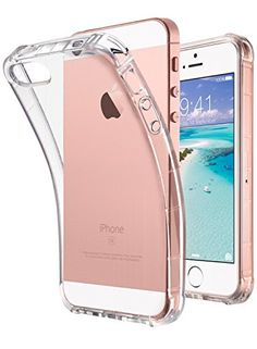 iPhone SE Case Clear, iPhone 5s case, iPhone 5 case, ULAK Clear Slim 5/5S/SE Case With Flexible Soft TPU Bumper Shock-Absorption Cover -Retail Packaging - Clear #iPhone #Case #Clear, #case, #ULAK #Clear #Slim #/S/SE #With #Flexible #Soft #Bumper #Shock #Absorption #Cover #Retail #Packaging