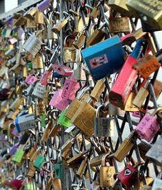Love locker at Namsan Tower ♥
