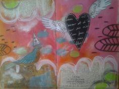 Moleskine la page de l'oiseau 06 2016