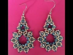 DIY Tutorial Orecchini/Anello Sery - Earrings Sery - Ring Sery - YouTube