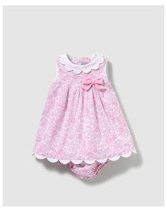 Thumbnail #1 Baby Girl Dress Patterns, Baby Clothes Patterns, Little Dresses, Little Girl Dresses, Cute Dresses, Baby Dress Design, Baby Frocks Designs, Moda Online, Kind Mode
