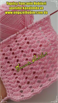 Tunisian Crochet, Filet Crochet, Sweater Design, Baby Knitting Patterns, Crochet Crafts, Diy And Crafts, Blanket, Crochet Stitches, Knitting Videos