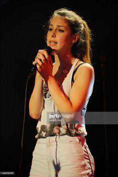 Lena Meyer-Landrut - die deutsche Saengerin bei einem Konzert beim Reeperbahnfestival 2012 in Hamburg.
