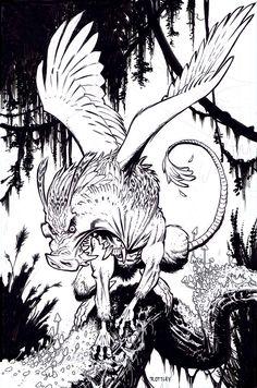 pig monster by RyanOttley