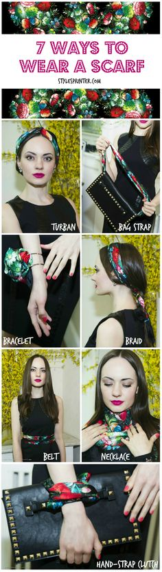 The Scarf Guide: 7 Ways to Tie Yours | Style Sprinter