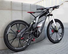 an #Audi pedal powered bicycle…