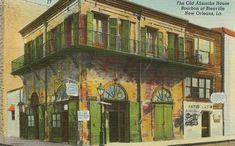 The Old Absinthe House, Bourbon at Bienville - New Orleans, LA by dawlin1, via Flickr