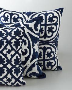 Bandhini Marrakesh Pillows. Home Accessories We Love at Design Connection, Inc.   Kansas City Interior Design http://www.DesignConnectionInc.com./Blog