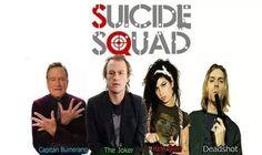 El Escuadrón Suicida en la realidad #HumorNegroTodo esto desde el respeto, que no se ofenda nadie.