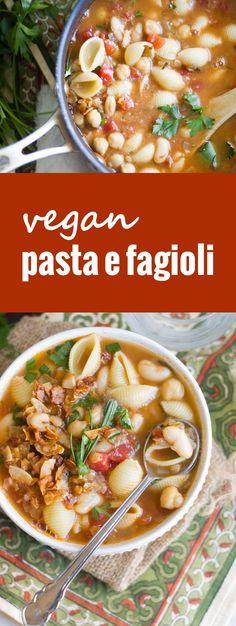 Vegan Pasta e Fagiol