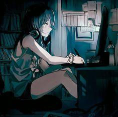 Pretty Anime Girl, Cool Anime Girl, Kawaii Anime Girl, Anime Art Girl, Fan Art Anime, Anime Group, Gamers Anime, Anime Scenery, Anime Outfits