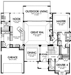 Arch-Inspired Design in Two Versions - 69405AM   1st Floor Master Suite, CAD Available, Den-Office-Library-Study, European, French Country, Luxury, Media-Game-Home Theater, PDF, Photo Gallery, Premium Collection, Sloping Lot   Architectural Designs
