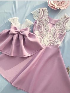 Elegant Family Look Mother and Daughter Evening Dresses Mom Daughter Matching Dresses, Mom And Baby Dresses, Baby Girl Dress Patterns, Mommy And Me Outfits, Little Girl Dresses, Flower Girl Dresses, Mother And Daughter Dresses, Mother Daughters, Daddy Daughter
